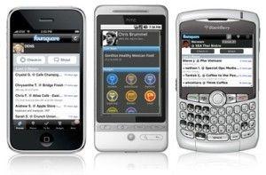 geolocalización móviles foursquare