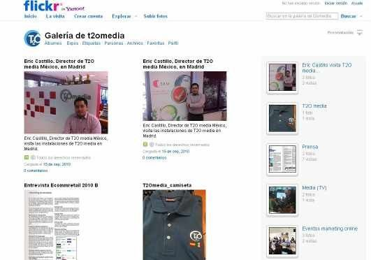 T2O media Flickr
