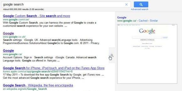 google scroll infinito