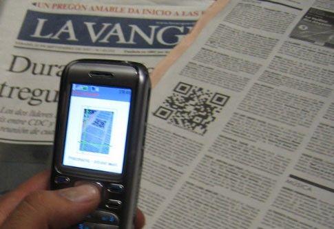 codigo qr prensa espana