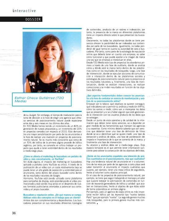 interactive SEO esthercheca