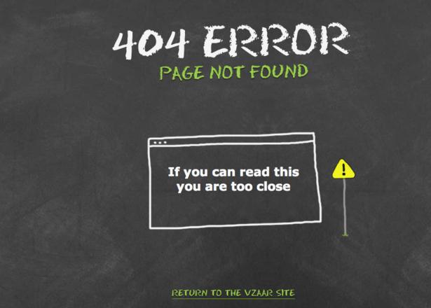pagina 404 vzaar