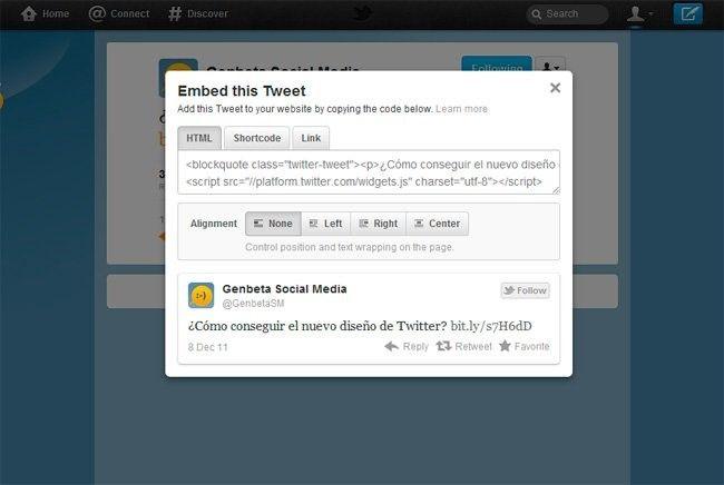 embeber tweet