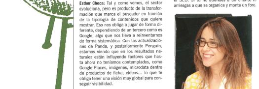 """Esther Checa en el debate """"SEO Social,local"""" de la revista INTERACTIVA"""