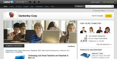 Nuevas páginas de empresa en LinkedIn