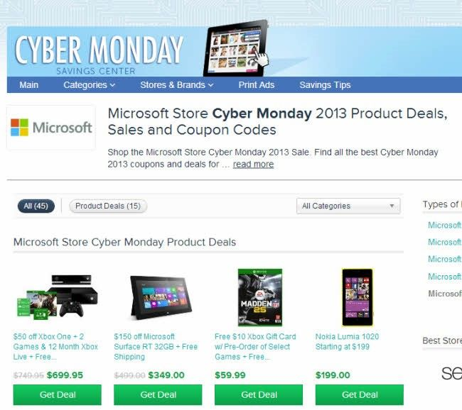 black friday cyber monday comprar online microsoft