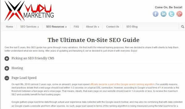 mejores guias seo online onsite vudu marketing