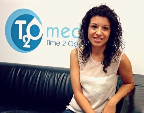 Azaida primera participante de Google Activate en T2O media