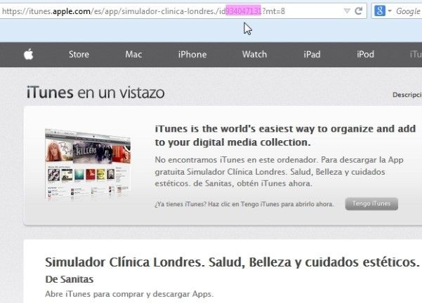 simulador-clinica-londres-app-applestore
