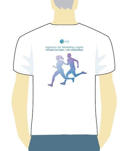 Camiseta de T2O media en la Carrera Empresas 2015
