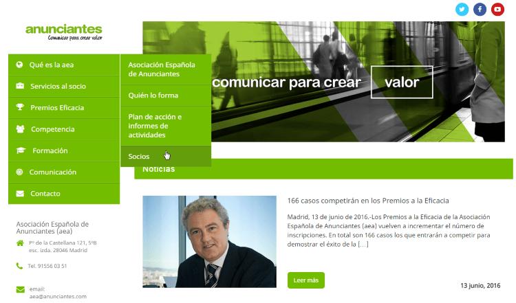 T2O media socio de la asociación española de anunciantes