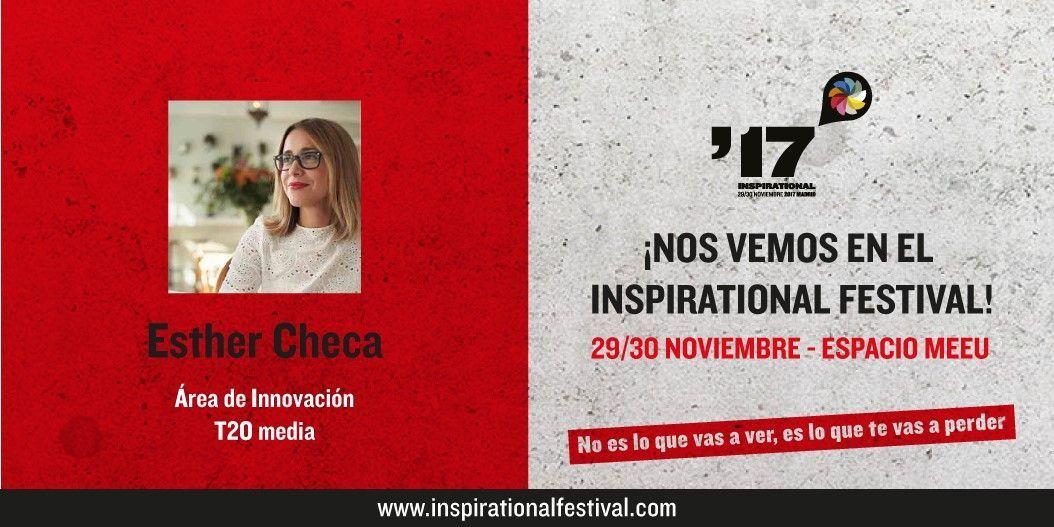 Esther Checa en El Festival Inspirational 2017