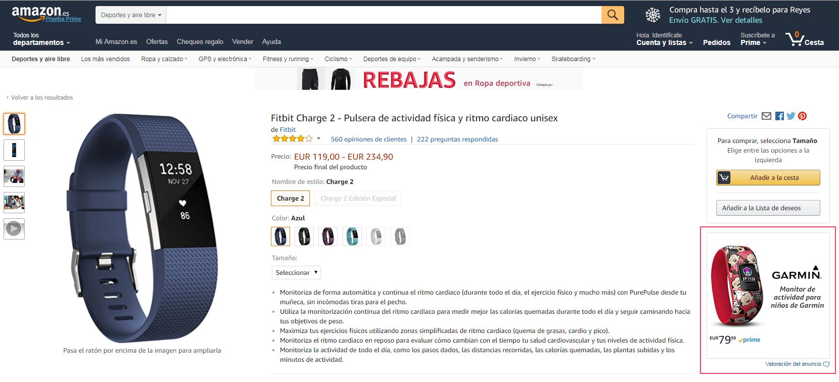 Anuncios Display de Amazon