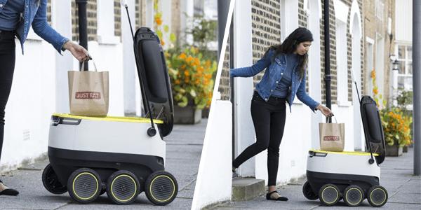 Robot repartidor de Just Eat