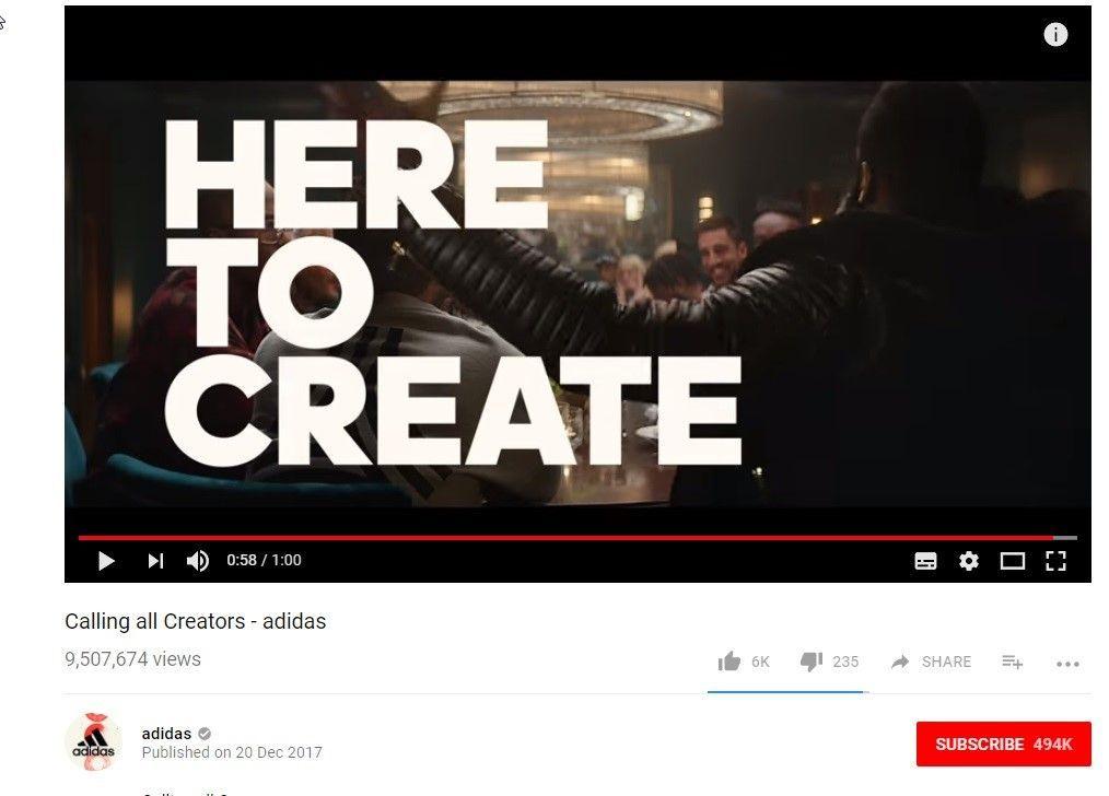 Video Hub de calendario de contenidos