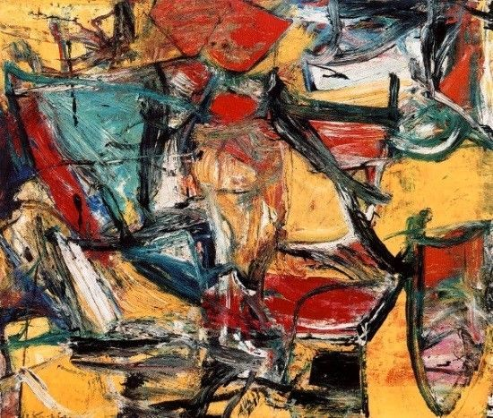 Willem de Kooning- Expresionismo Abstracto