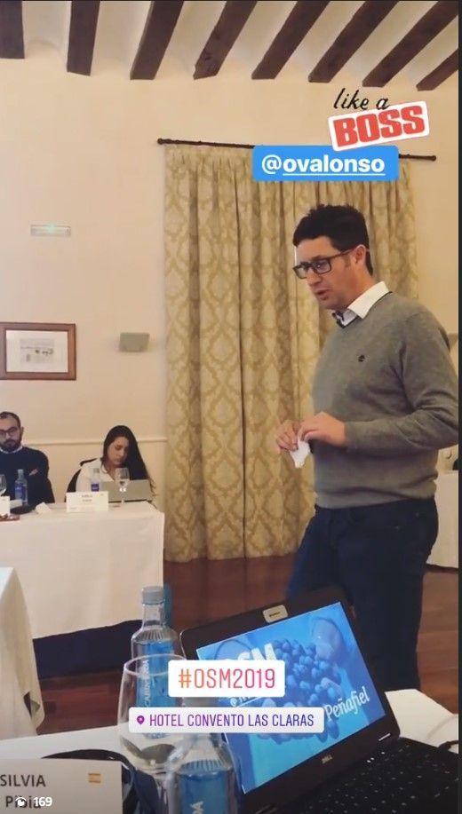 Óscar Alonso | OSM 2019