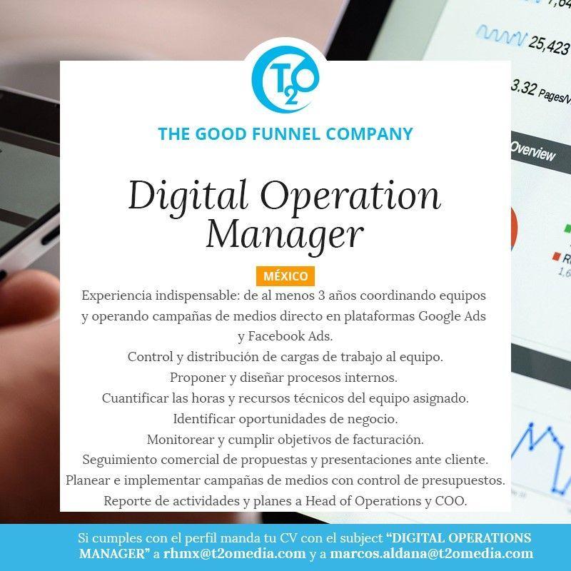 Trabajo de Operation Manager