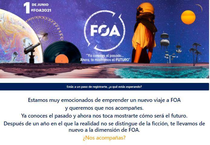 Registro FOA 2021