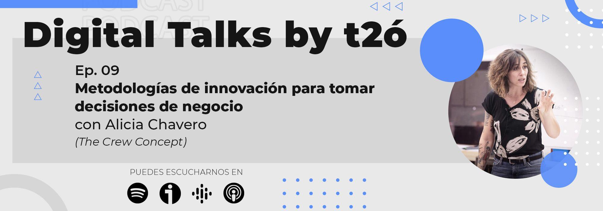 Metodologias Innovacion Digital Talks by t2ó